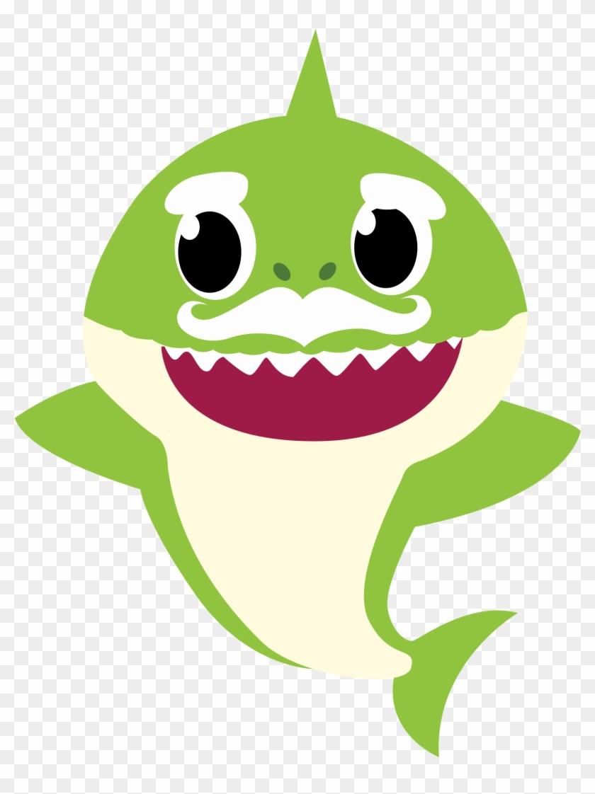 Grandpa Shark Png.