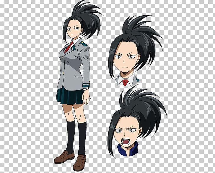 Momo Yaoyorozu My Hero Academia Kohei Horikoshi Anime PNG.