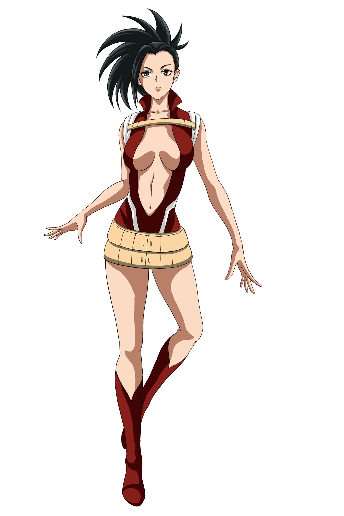 Momo yaoyorozu.