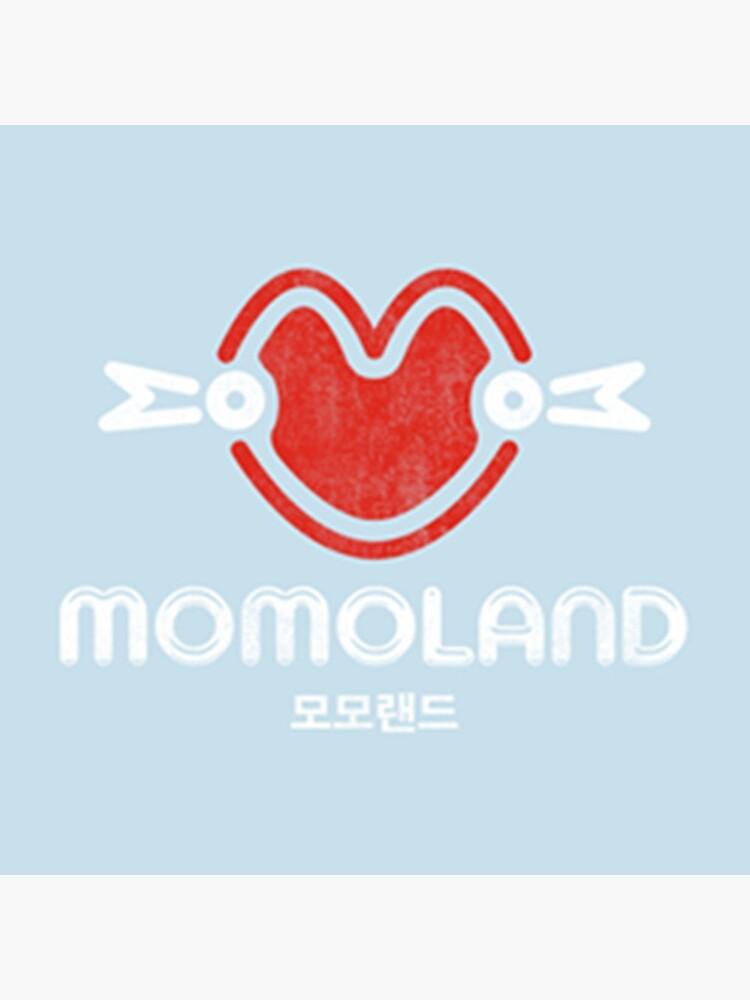 momoland pastel logo / 모모랜.