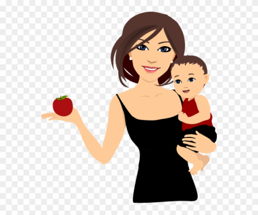 Fit Mom Clipart.