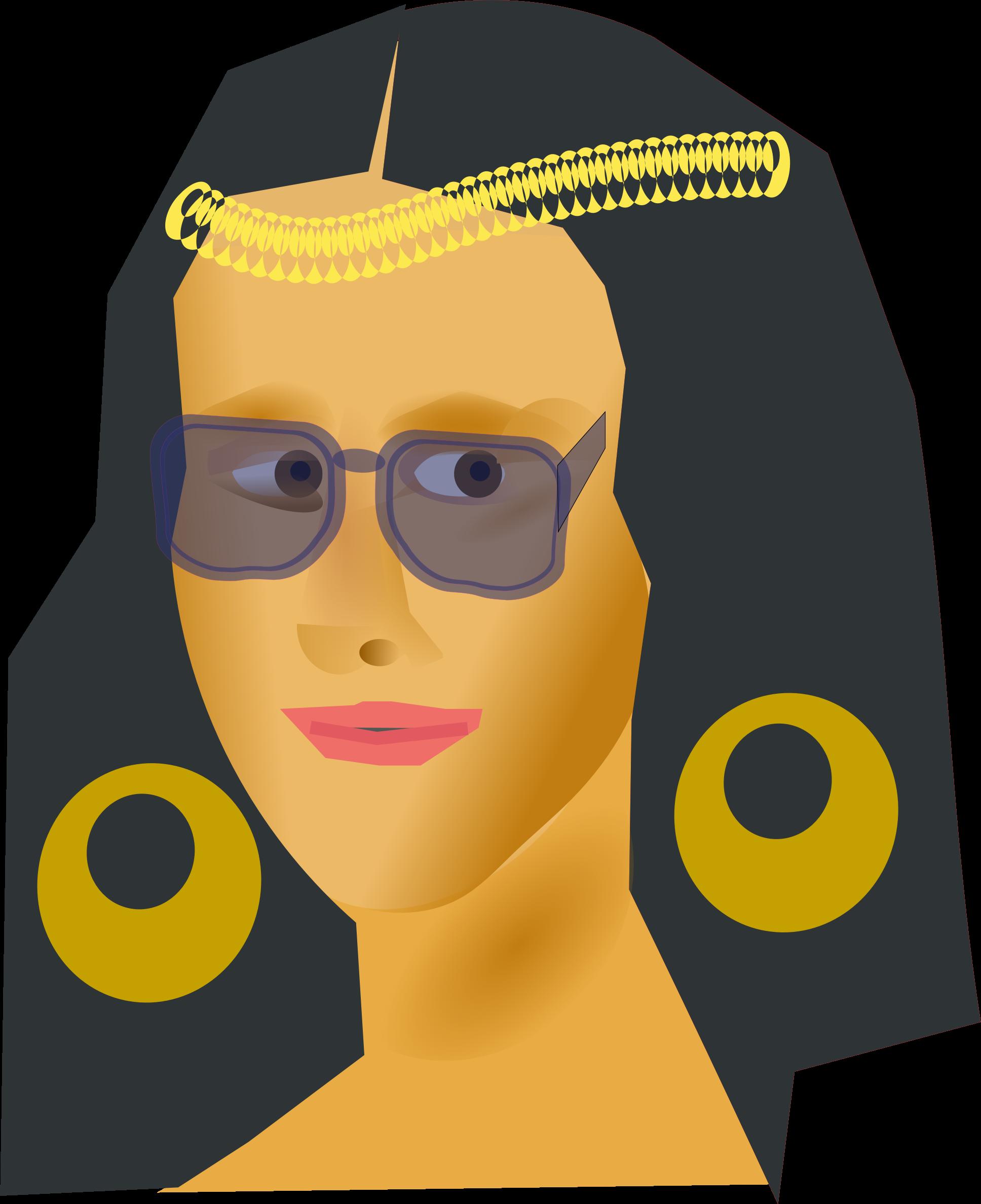 Mona lisa clip art.