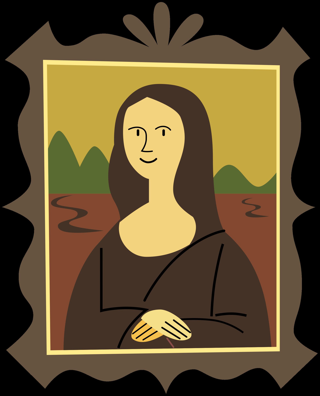File:Stylized Mona Lisa.svg.