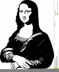Free Mona Lisa Clipart.