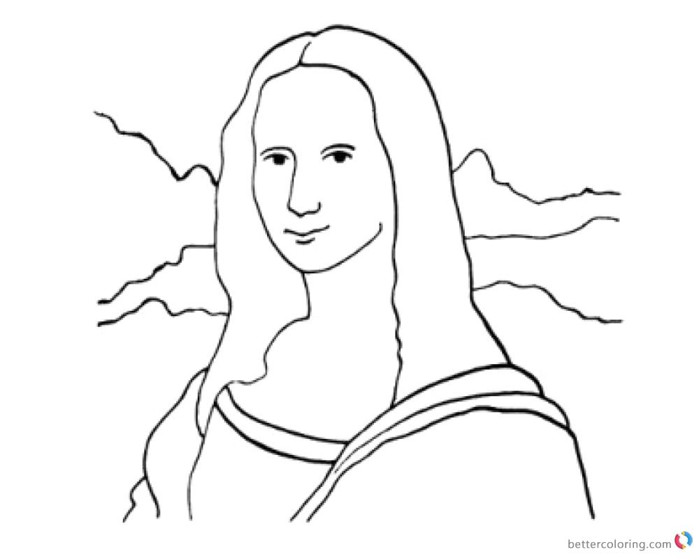 Kisspng Mona Lisa Clip Art Cliparts 5ab36a4568d4c4 Clipart 4.