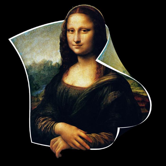 Mona Lisa Png Vector, Clipart, PSD.