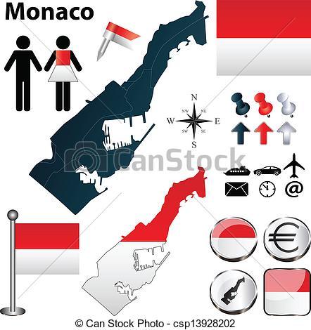 Monaco Vector Clipart EPS Images. 784 Monaco clip art vector.