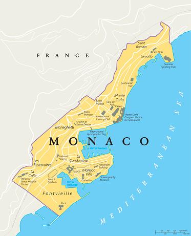 Monaco Ville Clip Art, Vector Images & Illustrations.