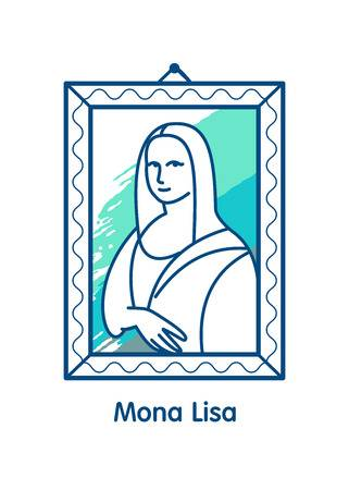 79 Mona Lisa Cliparts, Stock Vector And Royalty Free Mona.