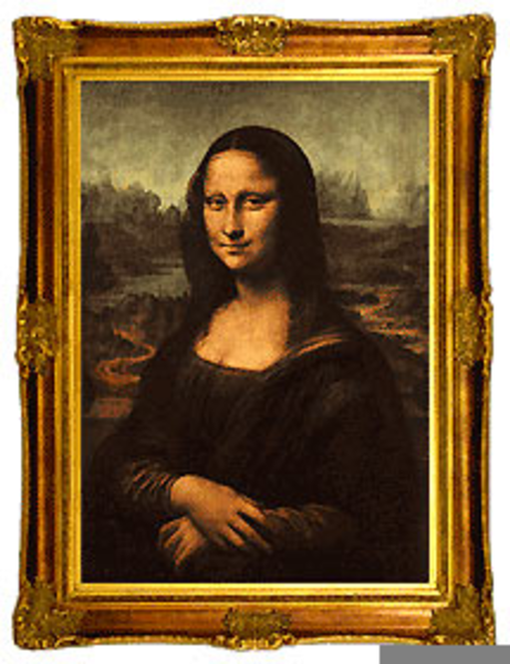Mona Lisa Clipart (83+ images in Collection) Page 1.