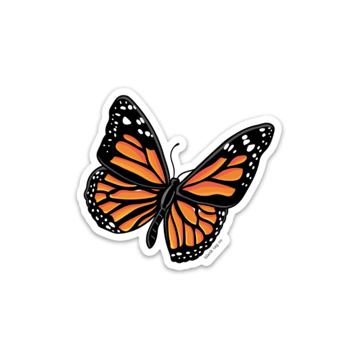 The Monarch Butterfly Sticker.