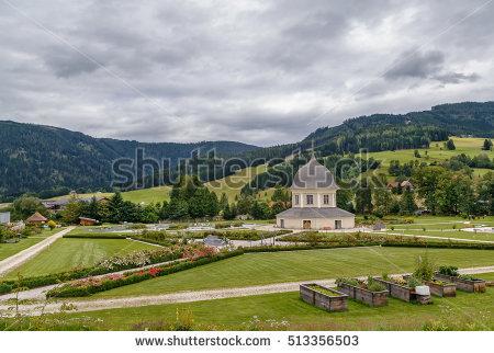 """""""monastery Gardens"""" Stock Photos, Royalty."""