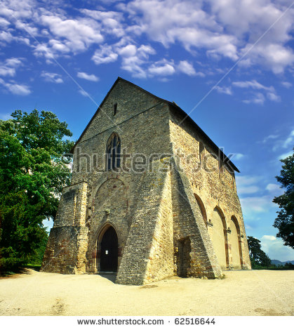 Monastery of lorch clipart #3