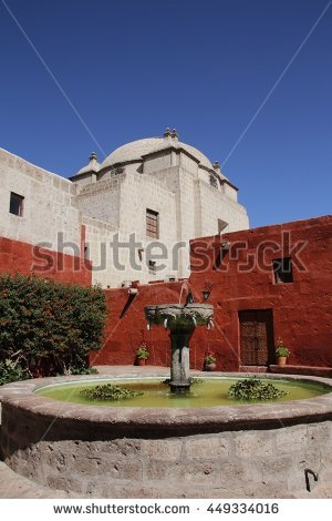 Santa Catalina Monastery Stock Photos, Royalty.