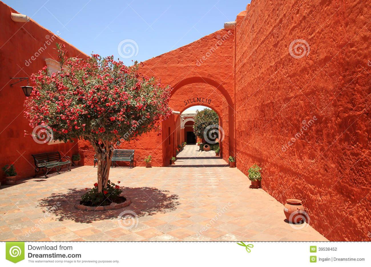 The Monastery Of Saint Catherine (Santa Catalina), Arequipa, Peru.