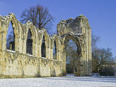 Stock Photo of England, North Yorkshire, York. The Abbey of St.