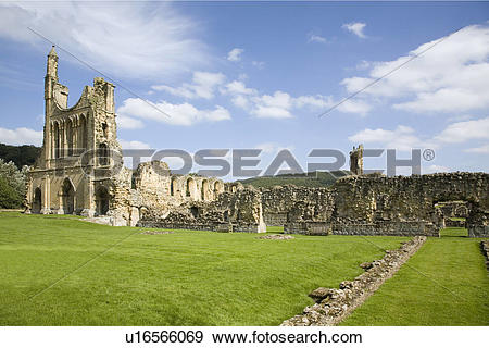 Stock Photograph of England, North Yorkshire, Coxwold, A view of.