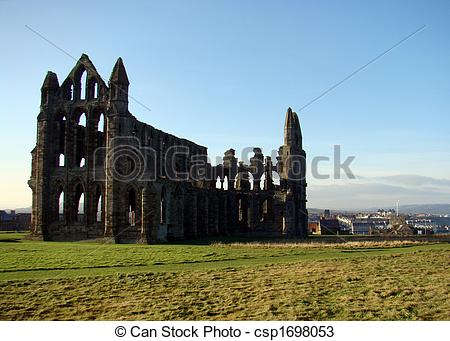Stock Photos of Whitby Abbey,North Yorkshire.