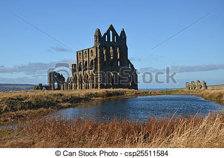 Pictures of Whitby Abbey.