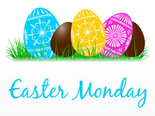 Easter Monday Clipart.