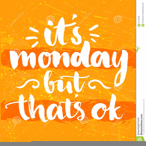 I Hate Monday Clipart.