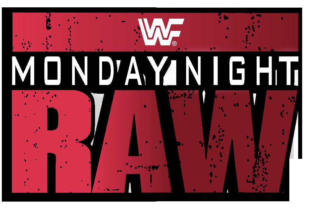 old Monday Night Raw logo.
