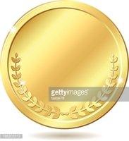 Moneda DE Oro vectores en stock.