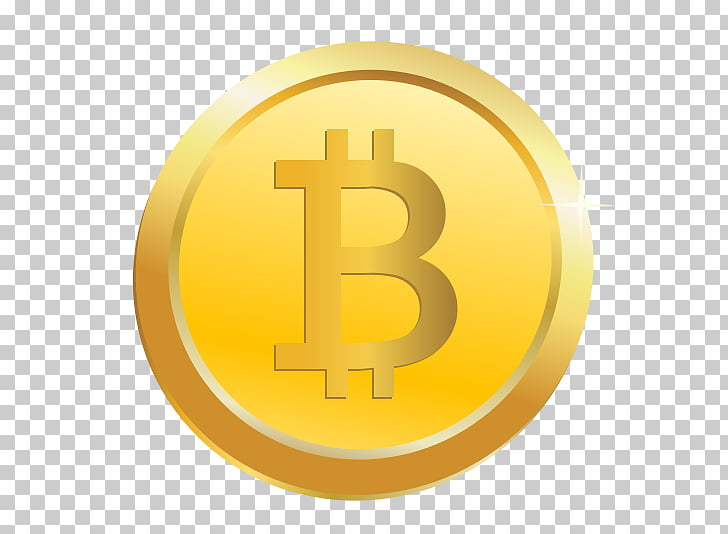 Bitcoin para los maniquíes criptomoneda, monedas de oro PNG.