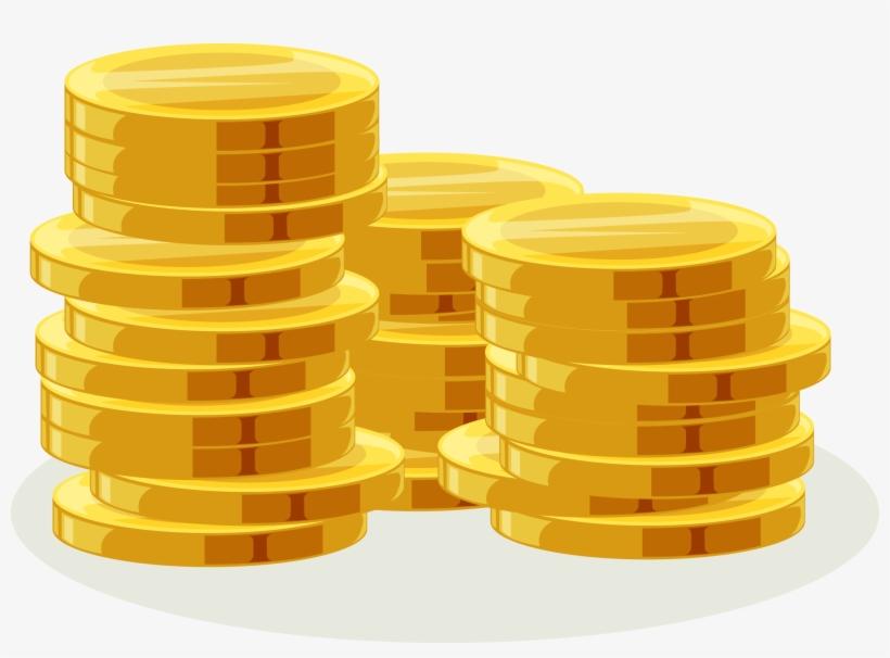 Coins Clipart Stack Coin.