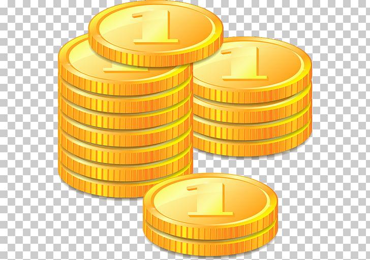 Monedas PNG Clipart.