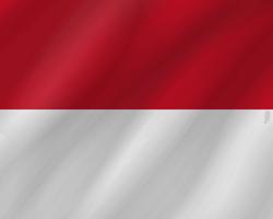 Monaco flag clipart.