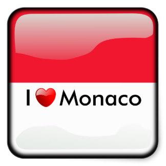 Monaco Stickers.