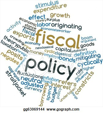 Clip Art Fiscal and Monetary.