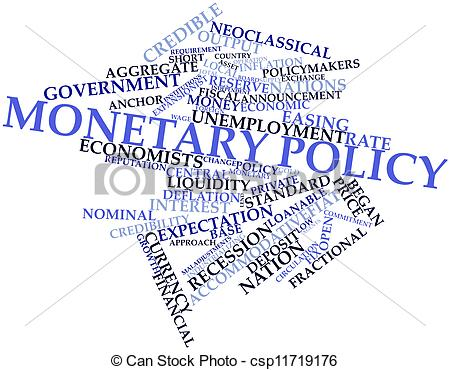 Stock Illustrations of Monetary policy.