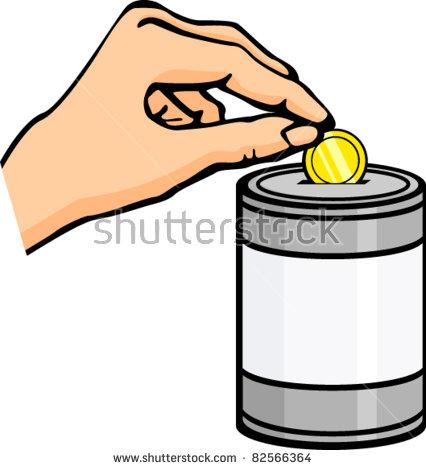 Monetary donation clipart #2