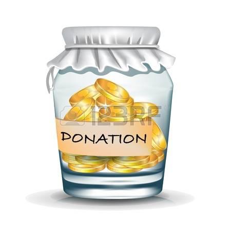 Monetary donation clipart #1
