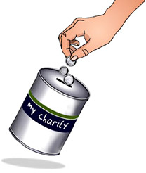 Gallery For > Giving Money Clipart.