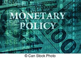Fiscal Monetary Policy Clip Art.