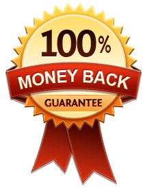 100% Money Back Guarantee transparent PNG.