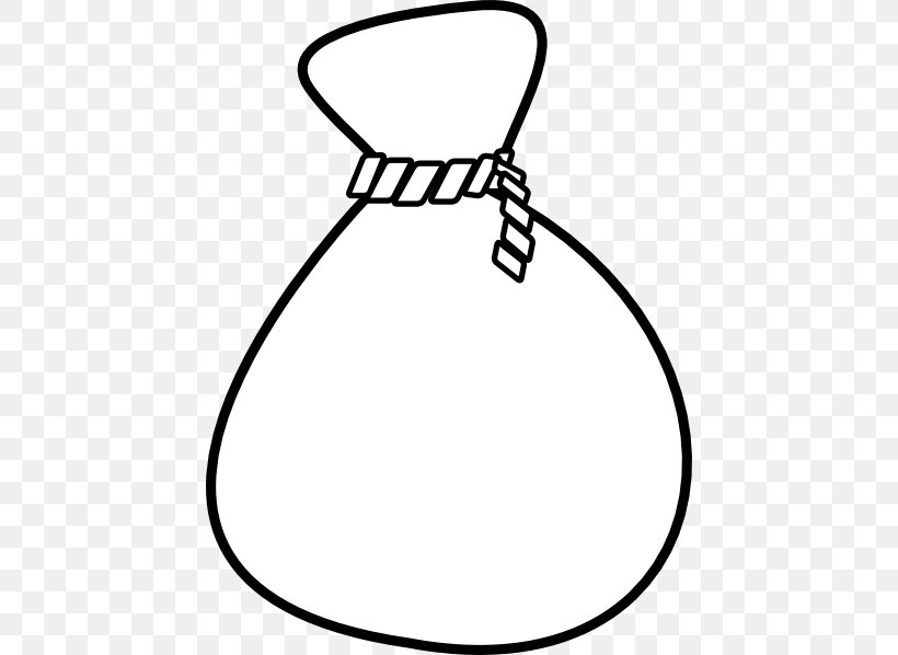 Money Bag Clip Art, PNG, 444x598px, Bag, Area, Black, Black.
