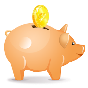 Piggy Bank Clipart Free.