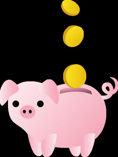 Best Piggy Bank Clip Art #6380.