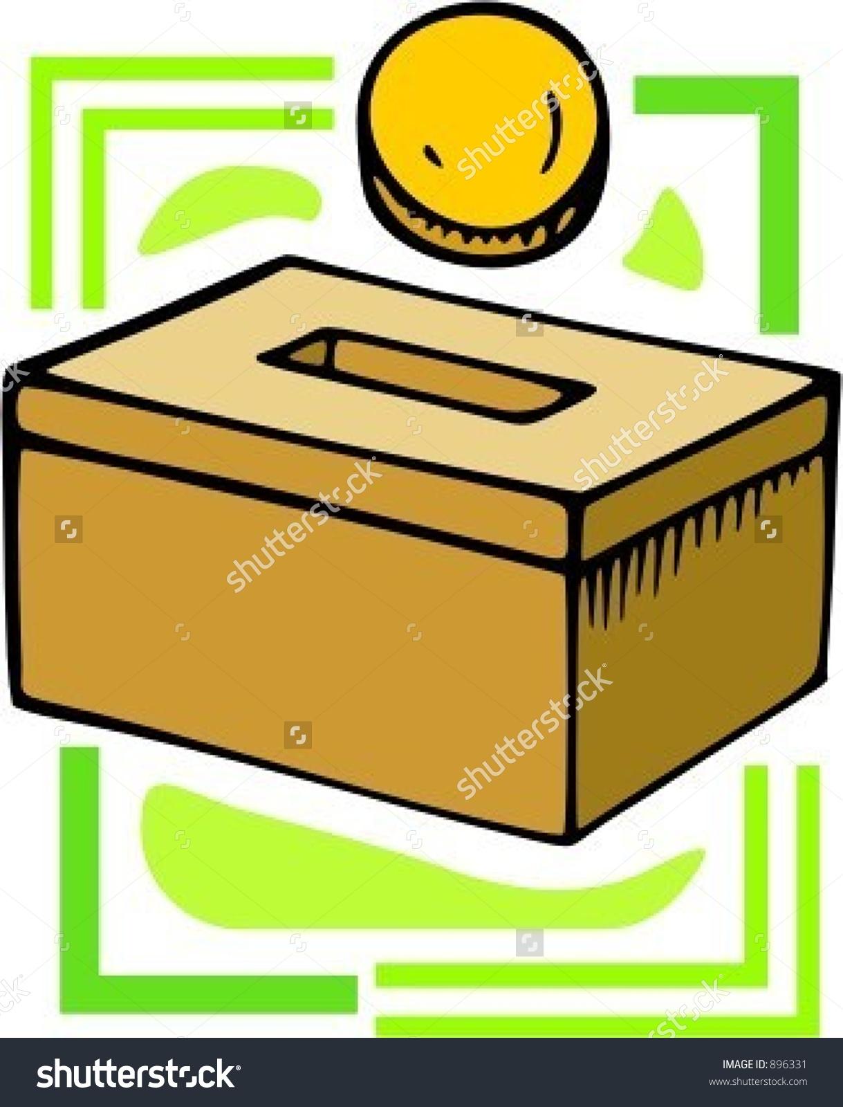 Money box clipart.