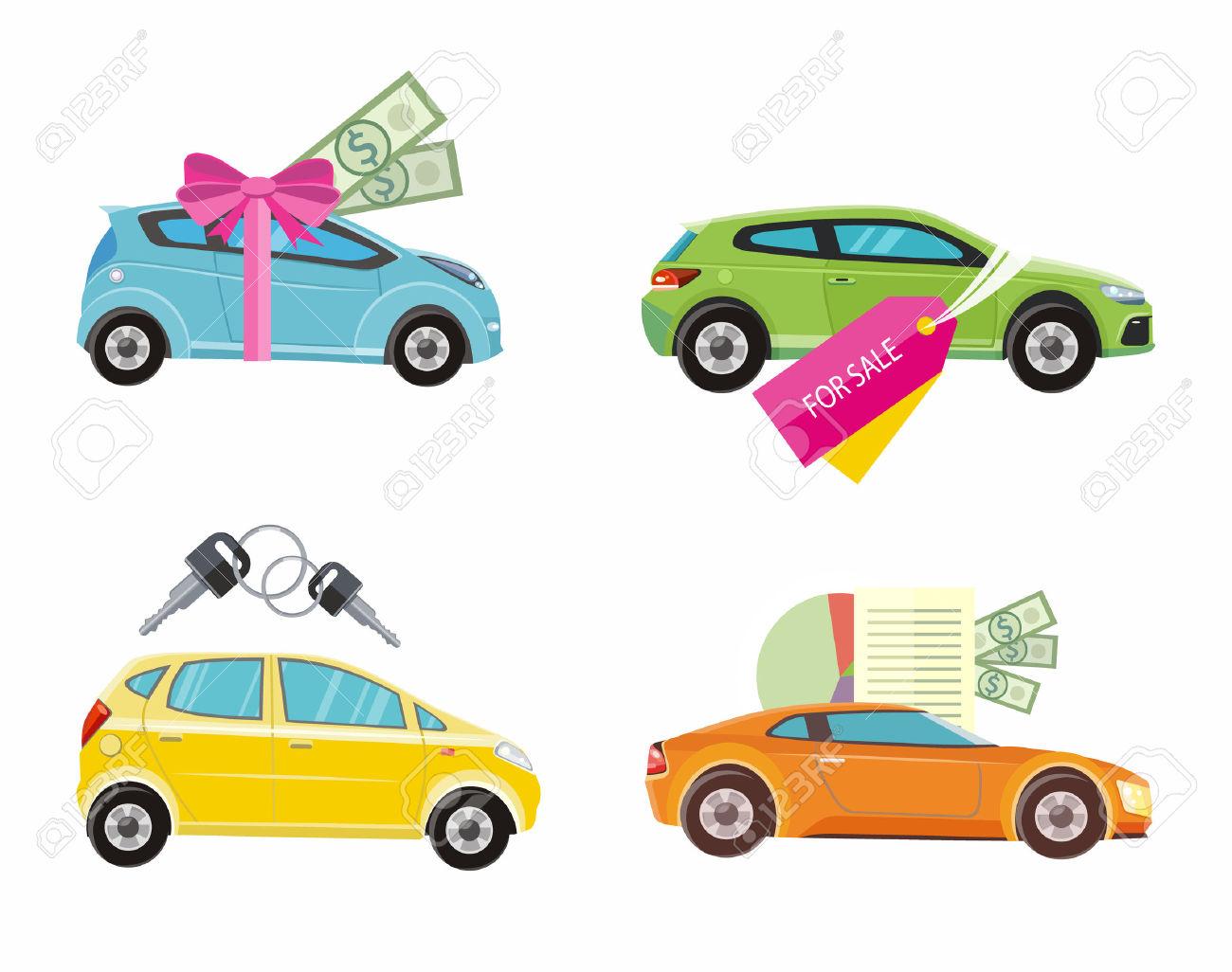 1,368 Car Dealership Cliparts, Stock Vector And Royalty Free Car.