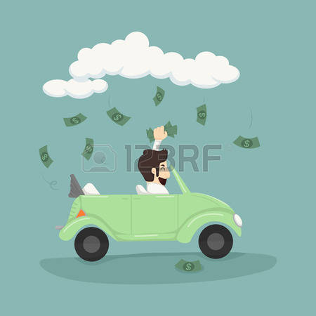4,526 Businessman Car Stock Vector Illustration And Royalty Free.