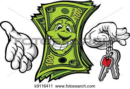 Money car Clipart Illustrations. 4,030 money car clip art vector.