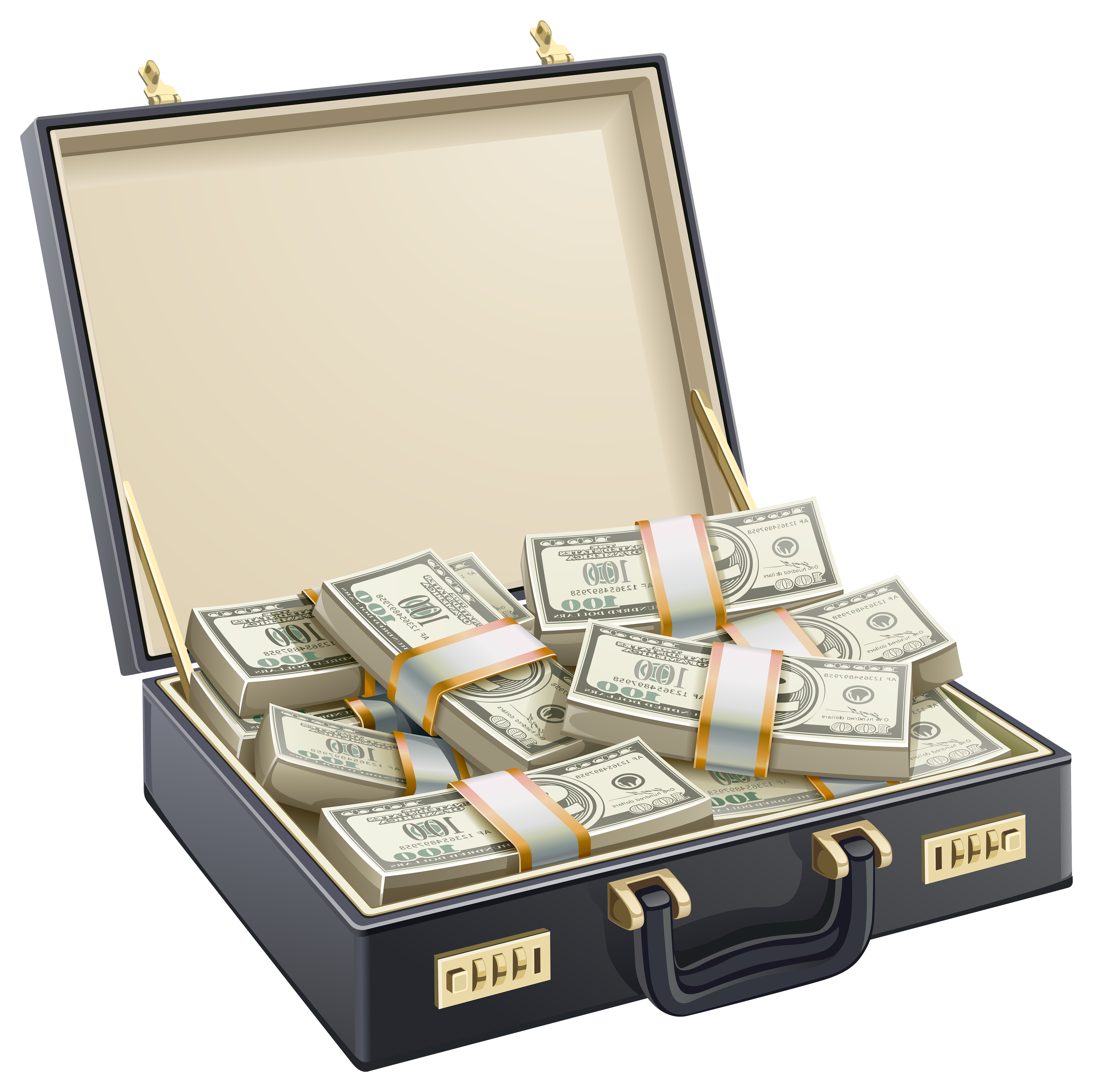 Dollar Case PNG Clipart.
