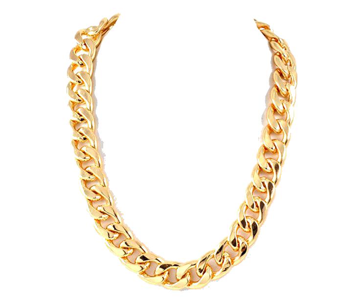 Gold Money Chain Clipart 80770.