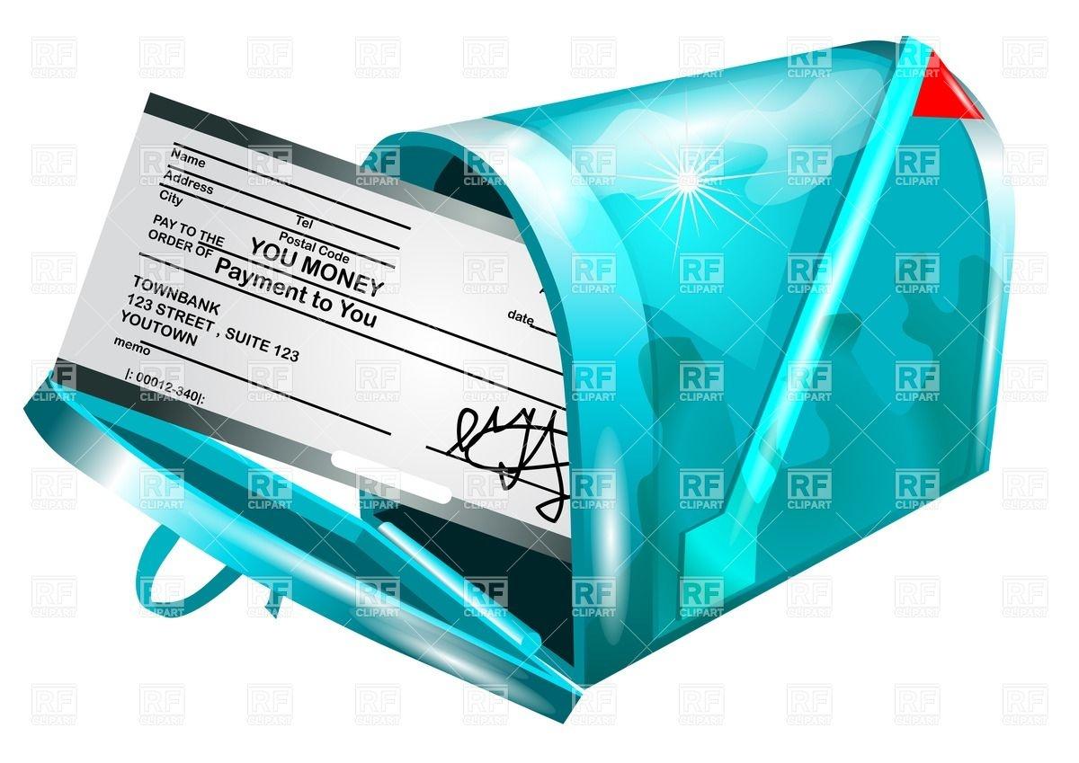 Check Payment Clip Art.