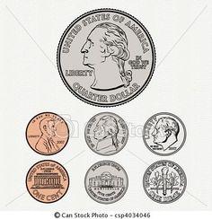 Coins Clipart For Teachers.